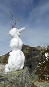 Niektorí contestujú, iní stavajú snehuliakov