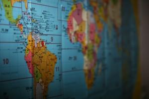 Mapa ďalekých zemí