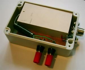 Mechanické usporiadenie v krabičke