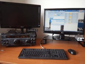 Setup na CQ WPX Contest založený na FT-1000MP