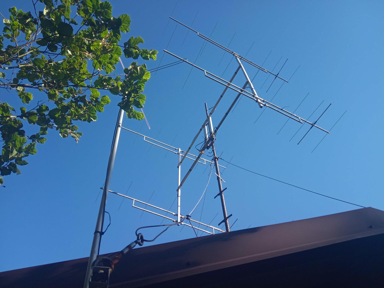 Anteny OM3KOM w JN98dv