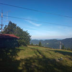 Widok z Homôlka JN98dv na zachód