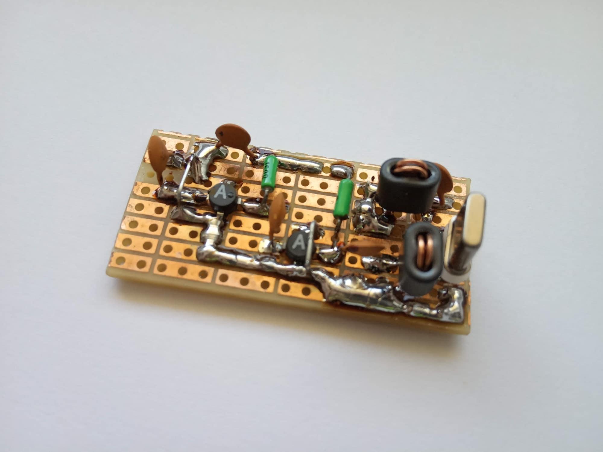 IMD produkty originálne zapojenie uBITX