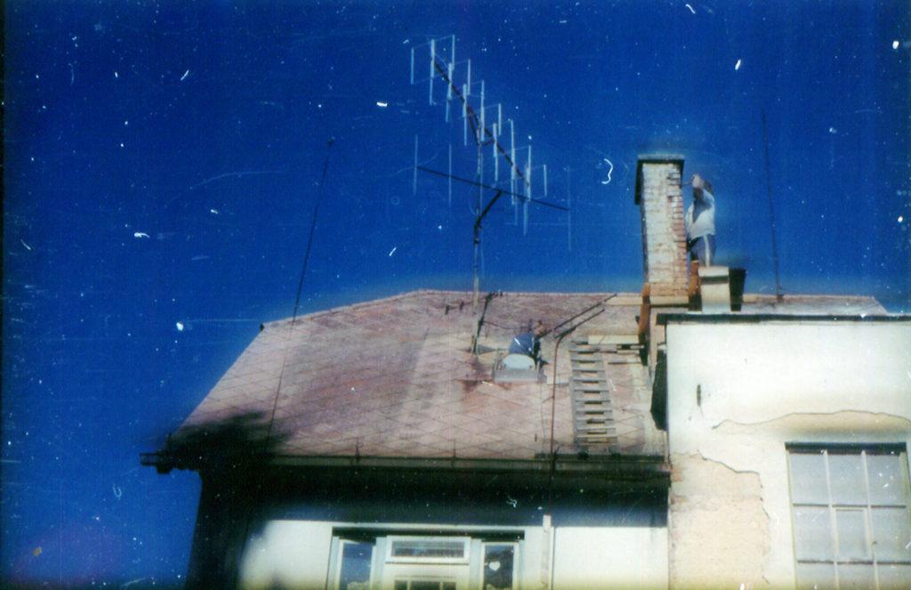 Antennes OK3WAO - quad GW4CQT et yagi vertical