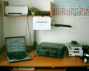 Rádioamatérske pracovisko
