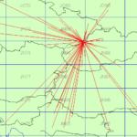 Smerová mapa spojení vo VKV PA jún 2021