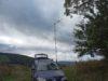 VKV prevádzkový aktív z Vlčieho vrchu s YU7EF yagi